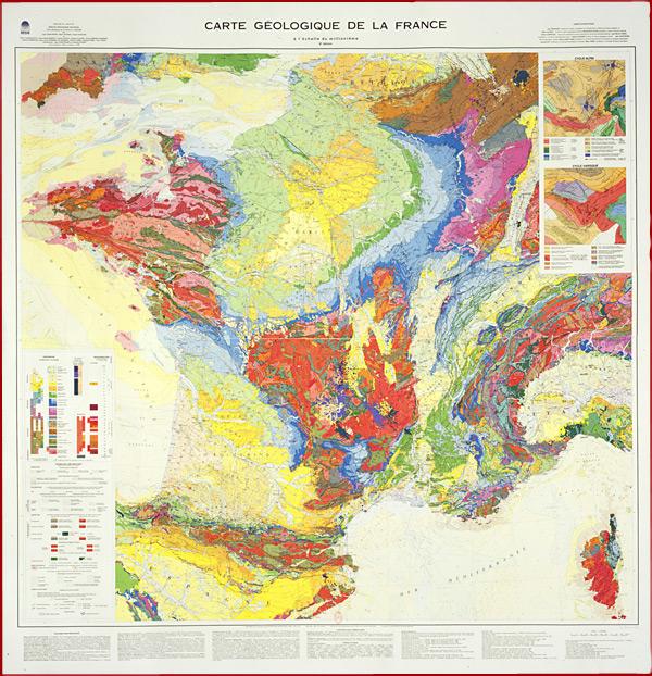79.4 01 Carte géologique de la France
